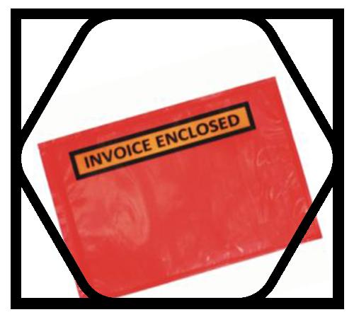 Invoice enclosed envelope